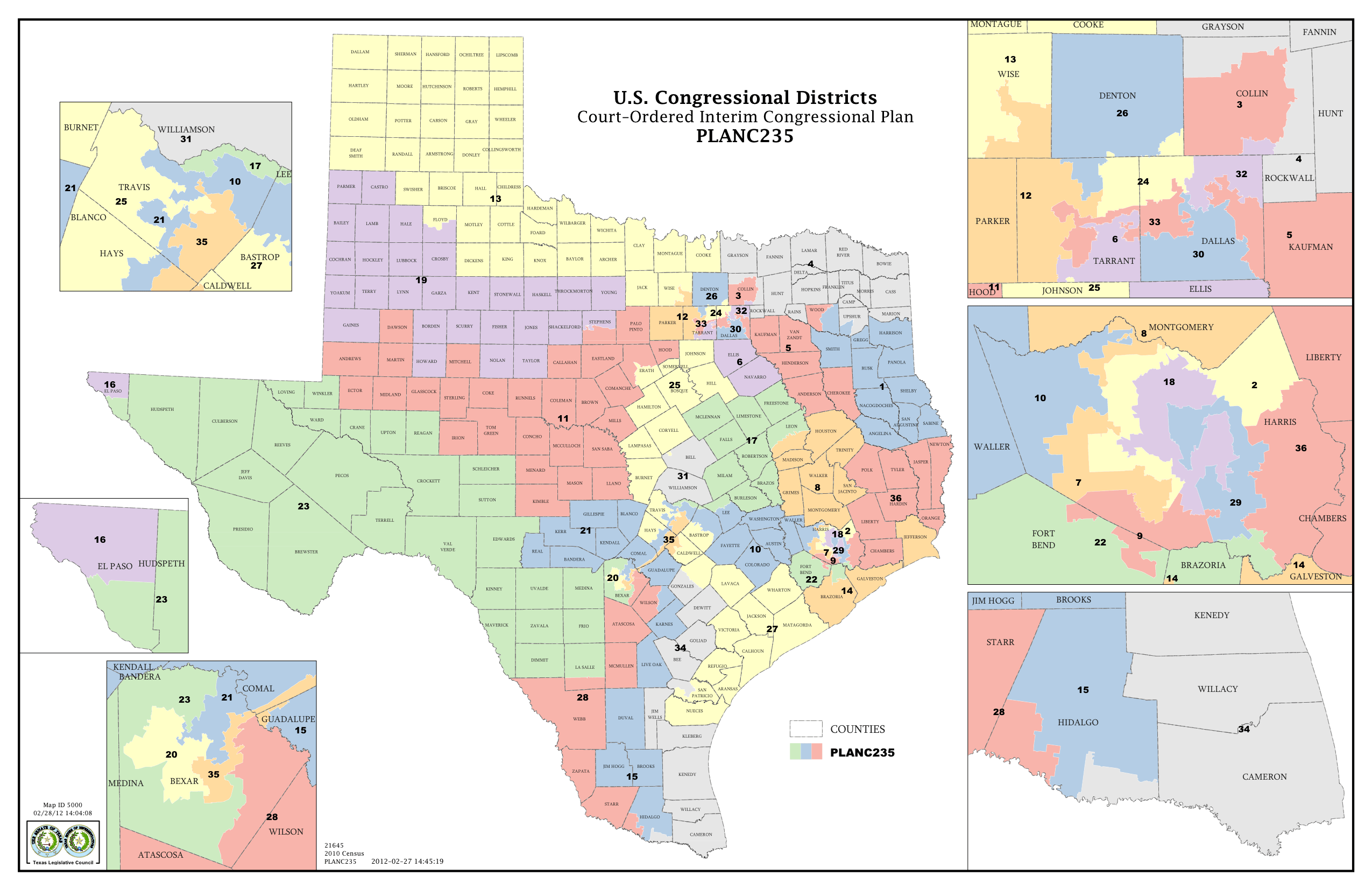 Election Resources On The Internet Federal Elections In The Does - Us 2011 congressional district map